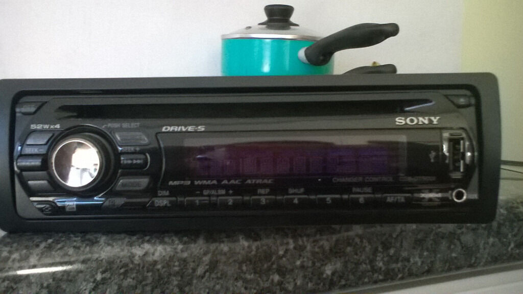 Sony Cdx Cd  Usb  Excellent Condition  Xplod