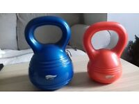 5 kg and 2.5 kg Body Sculpture, Fitness Kettle Bell