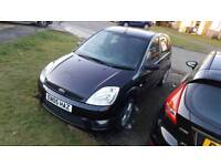 Ford fiesta 1.2 some history 10 month mot bargin