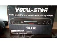 Karaoke recording player