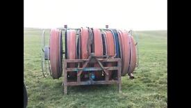 Slurry reeler and pipe