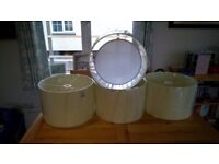 4 large matching lamp shades for sale