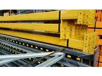 Pallet racking frame 9per/m. Racking beam 9 each Erdington Aston Delivery aveble