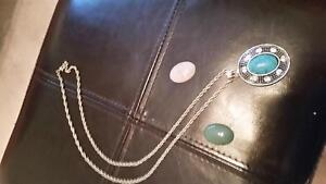 Silvrr chain and 3 pendants