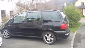 Seat Alhambra TDI 2007 for sale MOT FOR FULL YEAR FEB 2018. THREE NEW TYRES ON WEDNESDAY