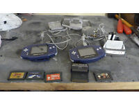 2 Game boy Advance's - Link Cable - Games and Accessories