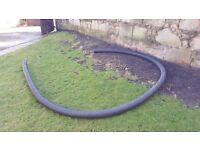 Garden drainage pipe (4 or 5 inch diameter)