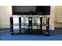 """John Lewis TV Stand for TVs up to 55"""", Black"""