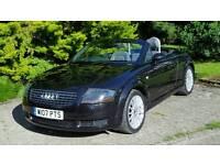 Audi TT Convertible 1.8L 225 BHP