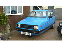 Reliant Rialto SE 1992 (Three wheeler)