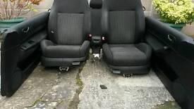 VW Golf Mk4 3 door interior Recaro heated seats with arm rest, door cards, etc
