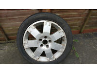 """Ford Mondeo Alloy wheels 17""""x 4"""