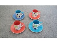 Whittards Expresso Coffee Cups