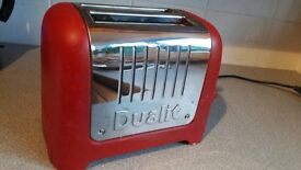 Dualit Toaster - Red