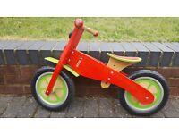 Goula Wooden Balance Bike for Kids