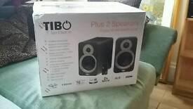 Tibo Plus 2 Speakers Brand New Unopened