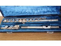 Yamaha Silver Flute with original Case - Good working order