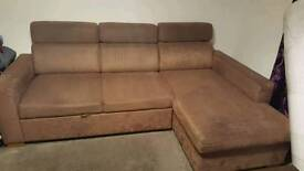 Sofa bed + chair bed