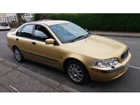 2002 Volvo S40 1.9 D S 4dr Diesel Saloon with Long MOT runs well no issues