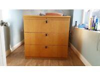 Large filing cabinet. 100 cm x 100 cm x 50 cm.