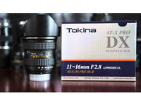 Tokina dx11 wide angle lens for nikon