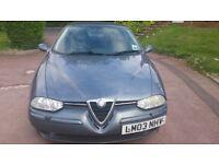Alfa Romeo 1.9 jtd Diesel 2003 (03 Reg)