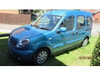 Renault Kangoo - Excellent Condition. Adapted for wheelchair user. Has only done 24000 miles