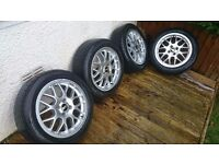 BBS RX 4x100 Wheels alloys Honda toyota mazda Vauxhall Colt Clio Proton Civic Volkswagen polo golf