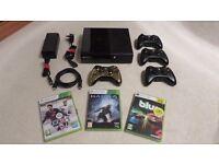 Xbox 360 E Consul, Controllers and Games