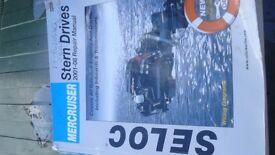 mercruiser stern drive manual