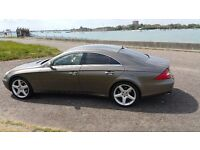 "Beautifull Mercedes CLS 320 CD1 fully loaded 19"" AMG wheels, full service History , MOT, New Tyres"