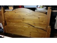 Kingsize Pine Bed Frame