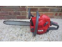 Efco well made petrol chainsaw not a Chinese cheap made machine