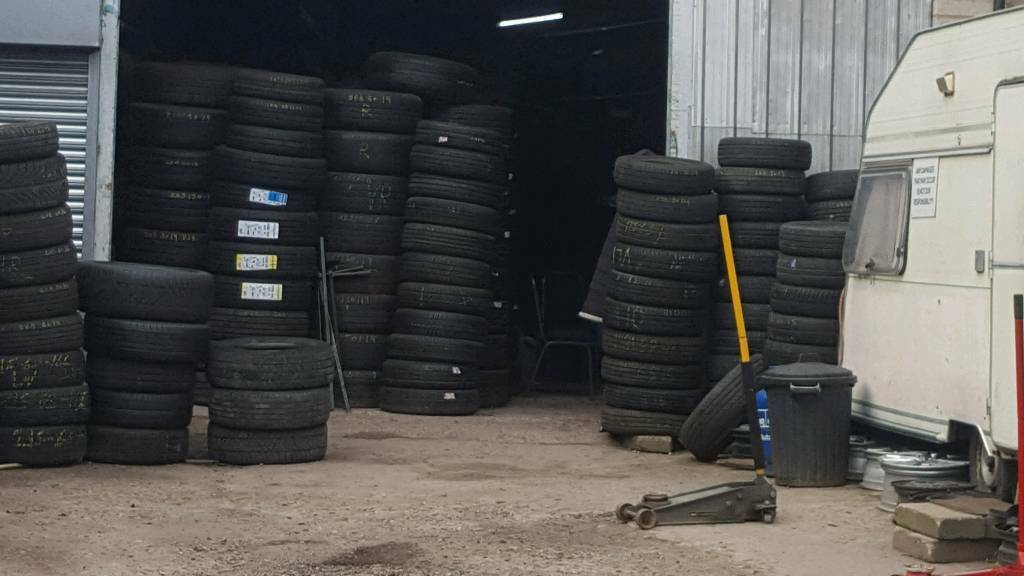 All tyres from £20 car wash £2.50