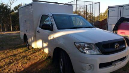 2008 Toyota Hilux Ute GGN15R MY08 SR Service Truck