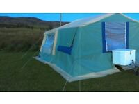Jamet Texas Luxe Trailer Tent