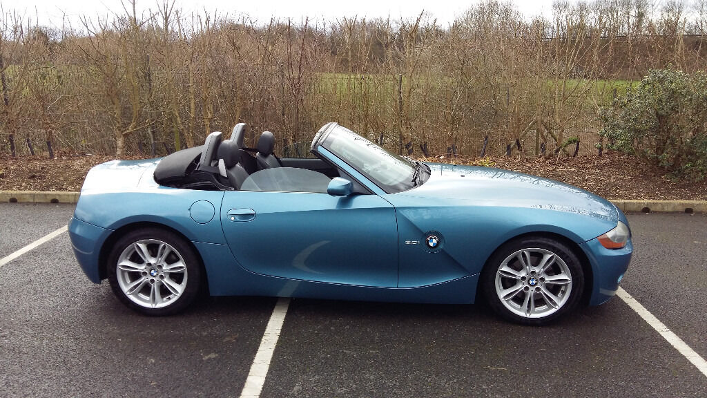 Bmw Z4 2004 54 Convertible 3 0i Se In Huntingdon