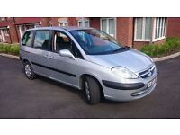 2007 plate Citroen C8 2.0 HDi 16v SX 6 Speed 5dr 7 seater