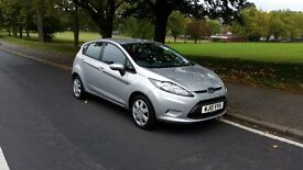 Ford Fiesta 10 plate 1.25 Edge, 5 dr, manual, Ac, FSH, parking sensors, not Polo Ka Clio Ford