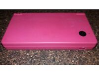 Nintendo DS Dark Pink + 2 games