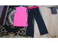 ADIDAS exercise clothes size 10 very good condition