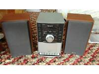 Sony micro hi-fi CMT-EH10 cd player tuner and cassette player