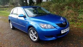 Blue Mazda 3 - Manual, petrol, 2005 - Very Good Condition