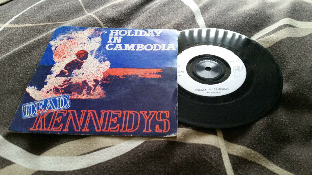 The dead Kennedys holiday in Cambodia vintage vinyl record