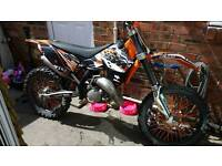 Ktm 125 2009 in mint condition looking for 250 exc