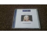 Rare BBC Production CD-R Annie Lennox Live and Exclusive Riverside Studios in London 2003