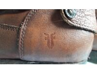 Mexican made top quality Frye tan hide Horse Riding Boots