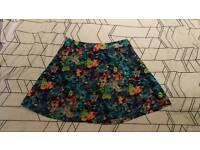 Joy 'Louche' colourful skirt