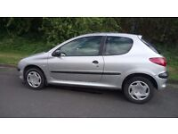Peugeot 206 '02 1.4 Diesel 3 DR Great little runner very economical & CHEAP Tax £30 a yr.