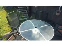 Garden Glass table and 5 chairs